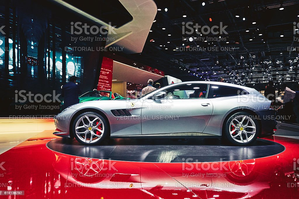 2017 Ferrari GTC4 Lusso T stock photo