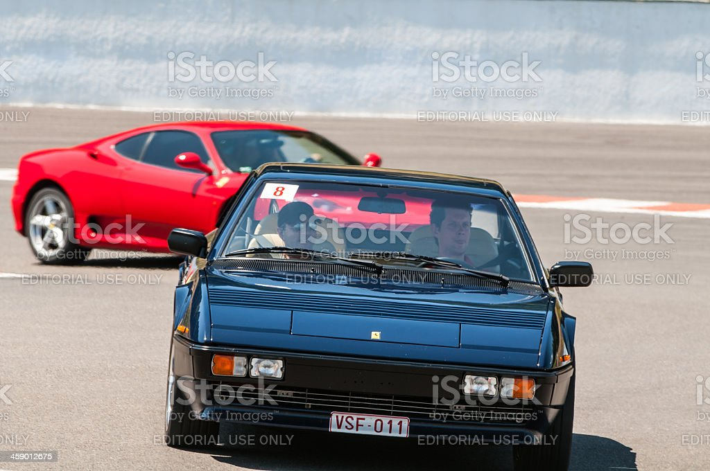 Ferrari Mondial royalty-free stock photo