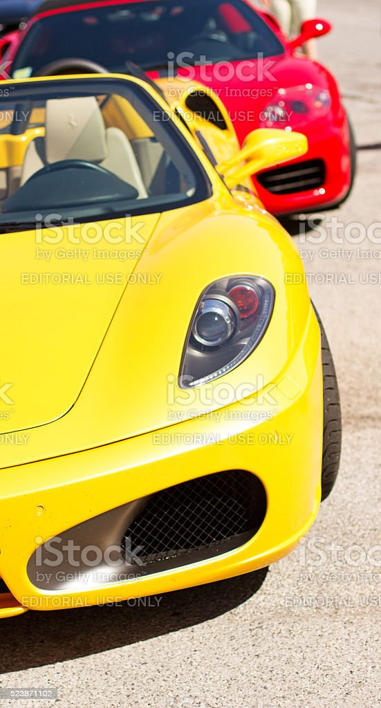 Ferrari stock photo