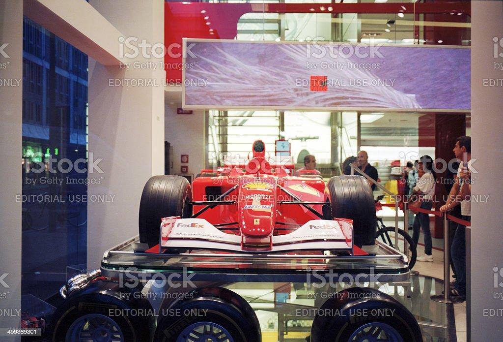 Ferrari Store stock photo