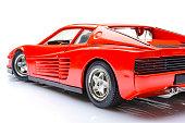 Ferrari Testarossa sports car model