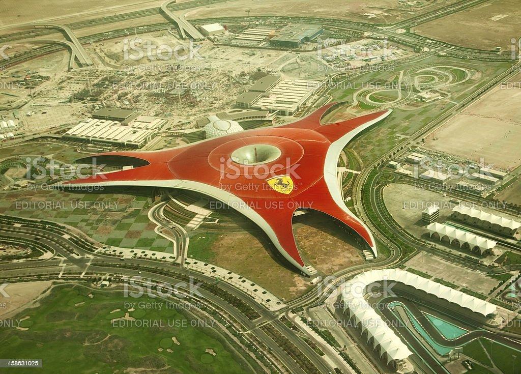 Ferrari World Park stock photo