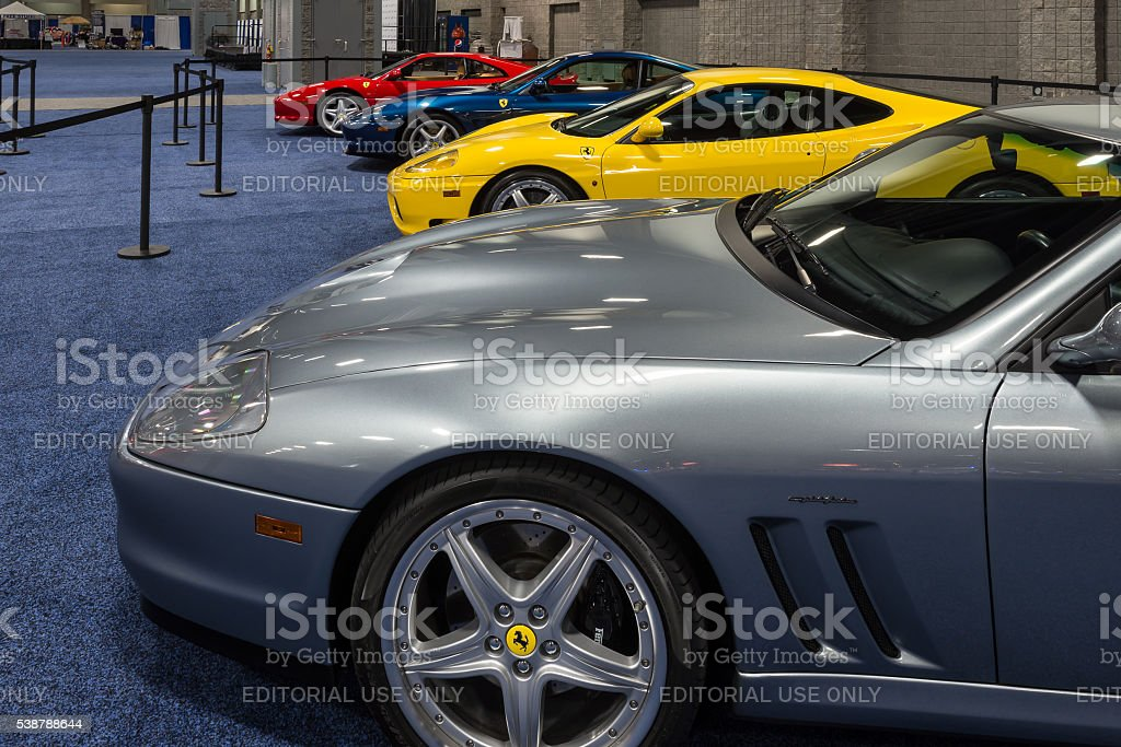 Ferraris stock photo