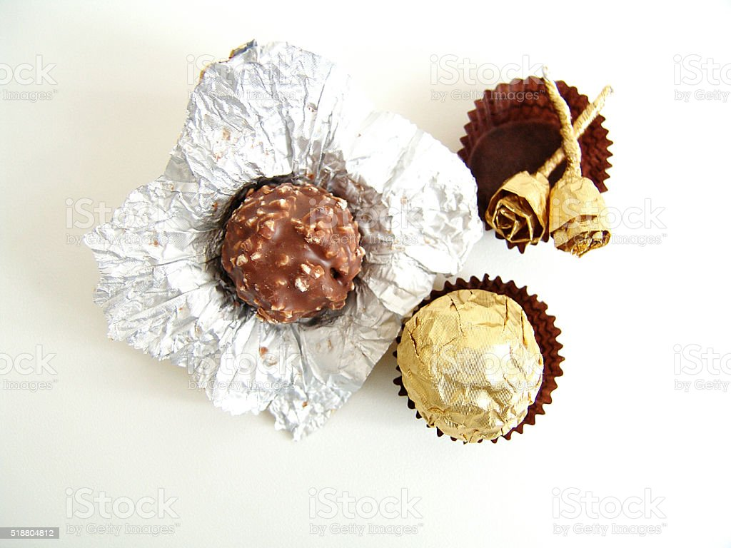 Ferrero Rocher stock photo