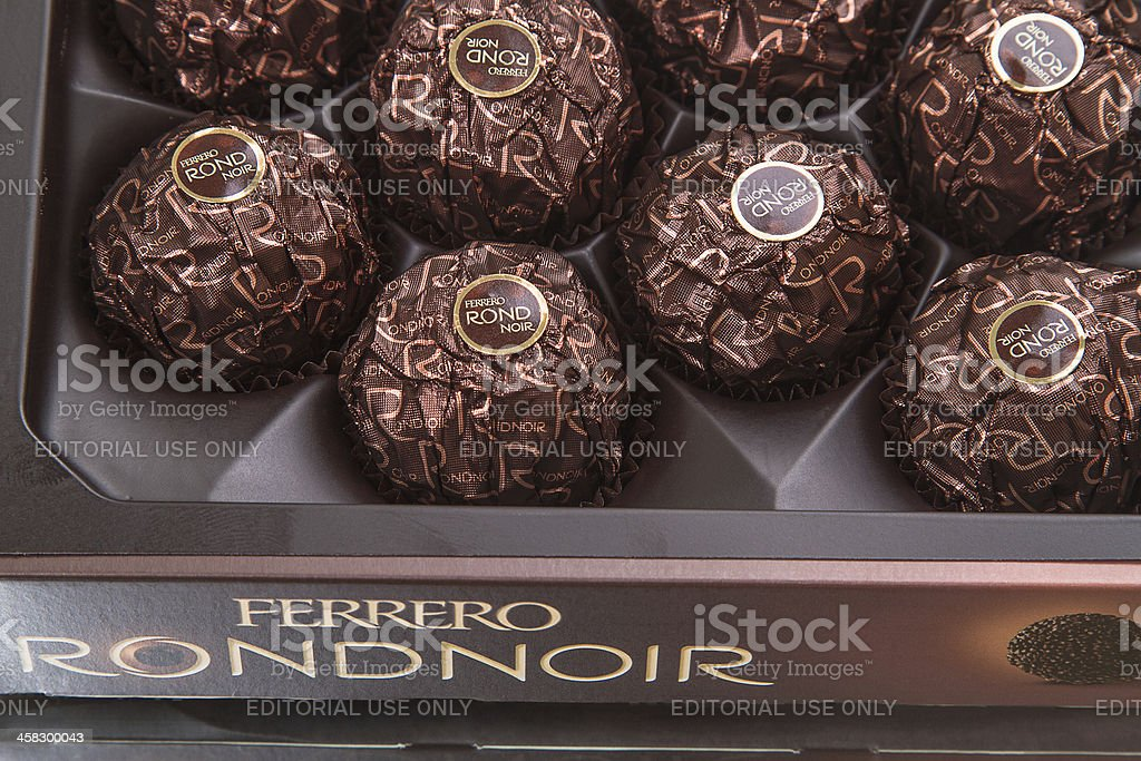 Ferrero Rondnoir stock photo