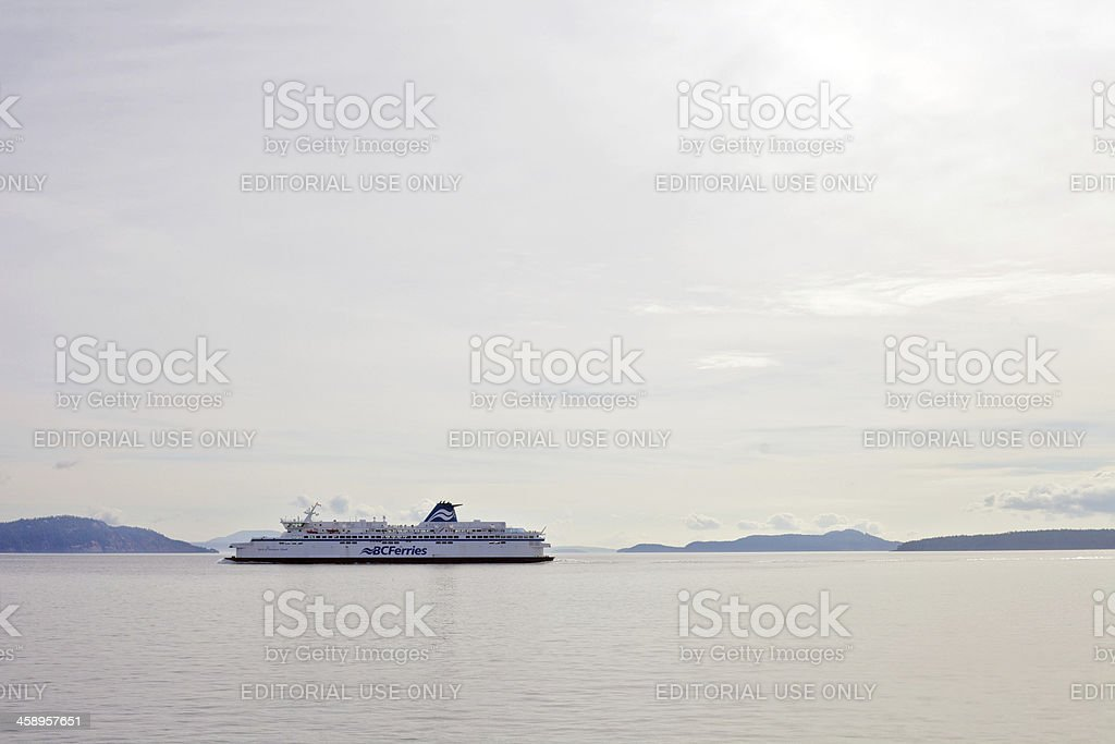 BC Ferries royalty-free stock photo