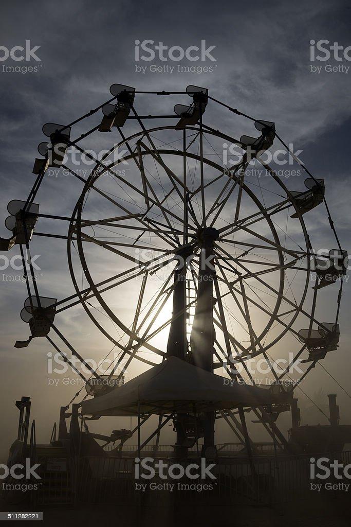 Ferris Cloud stock photo