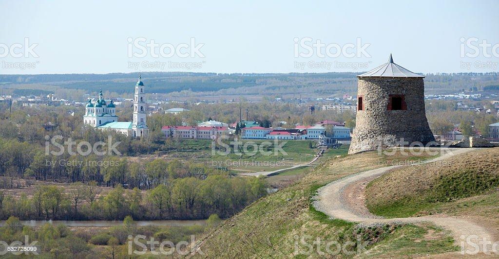Ferris settlement city Elabuga stock photo