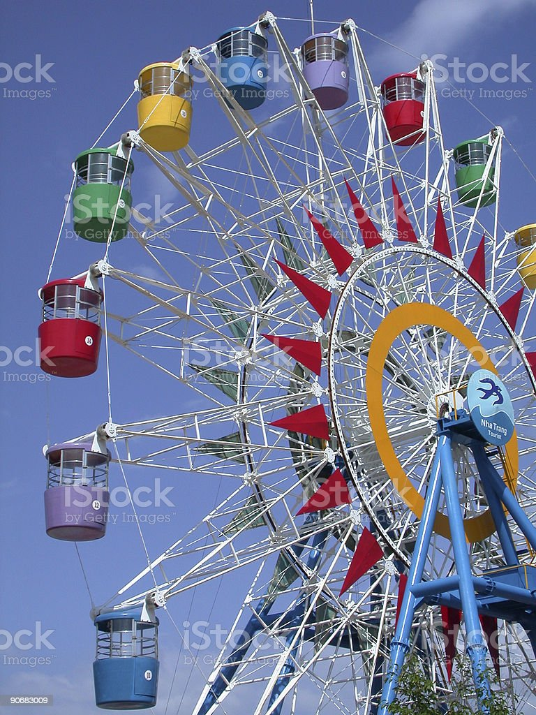 Ferris wheel 1 royalty-free stock photo