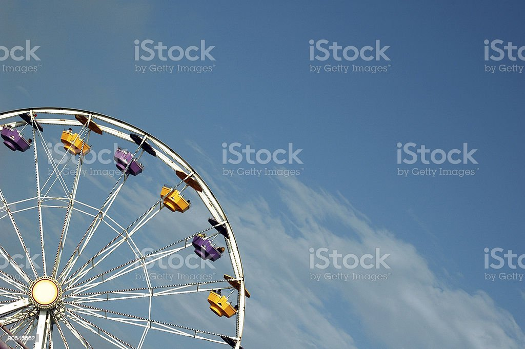 Ferris Wheel 4 royalty-free stock photo