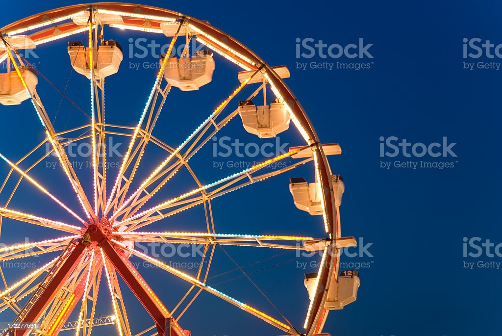 Ferris Wheel Abstract royalty-free stock photo