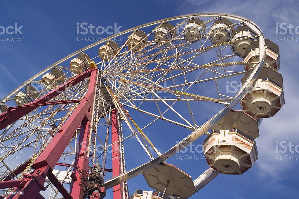 Ferris Wheel Afternoon Hz stock photo