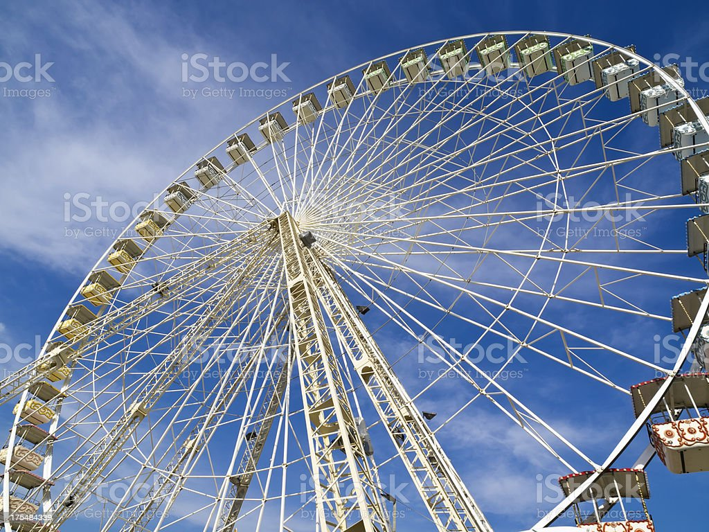Ferris Wheel  Amusement Park Ride royalty-free stock photo