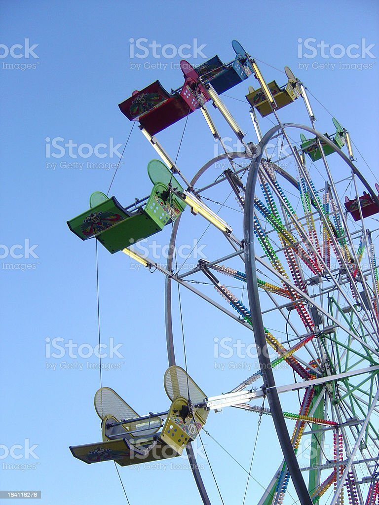 Ferris Wheel at the Fair royalty-free stock photo