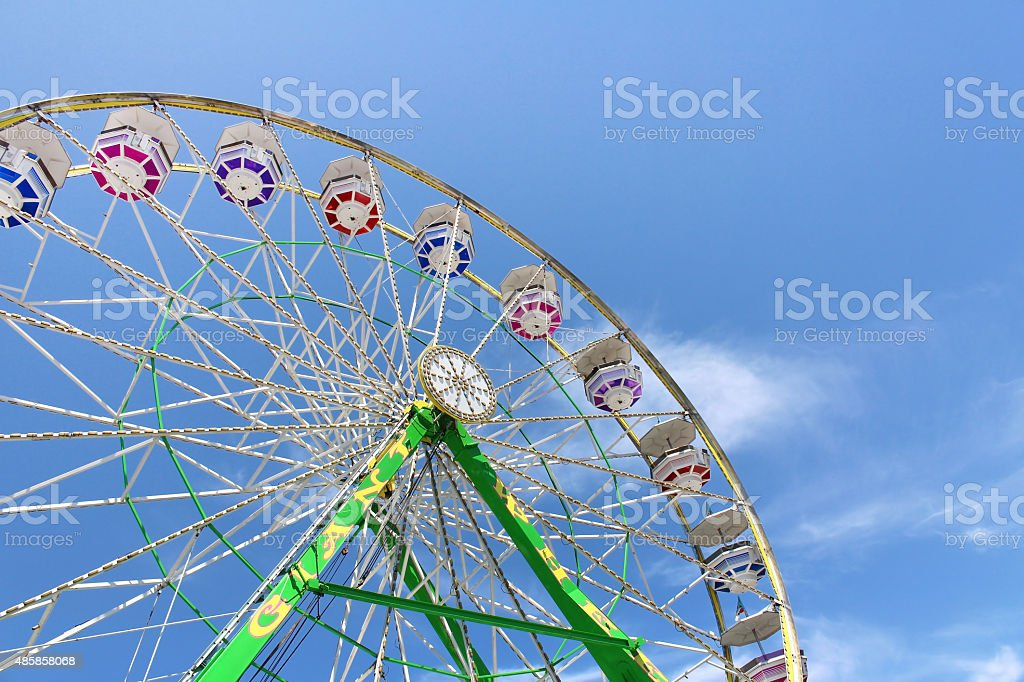 Ferris Wheel at the State Fair stock photo