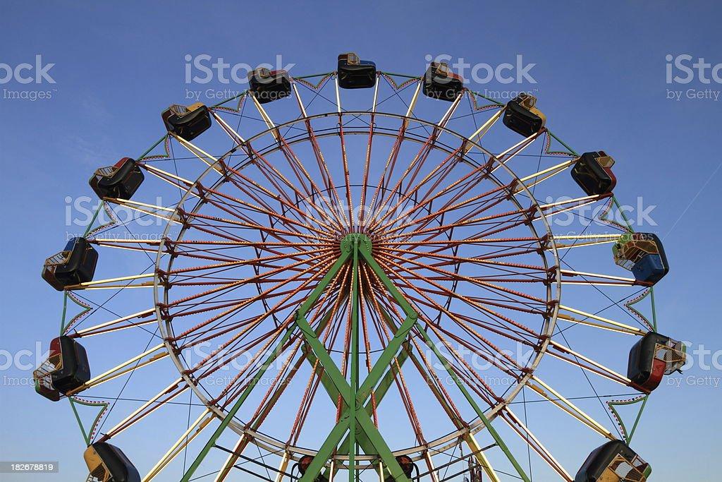 Ferris Wheel at Twilight Horizontal royalty-free stock photo
