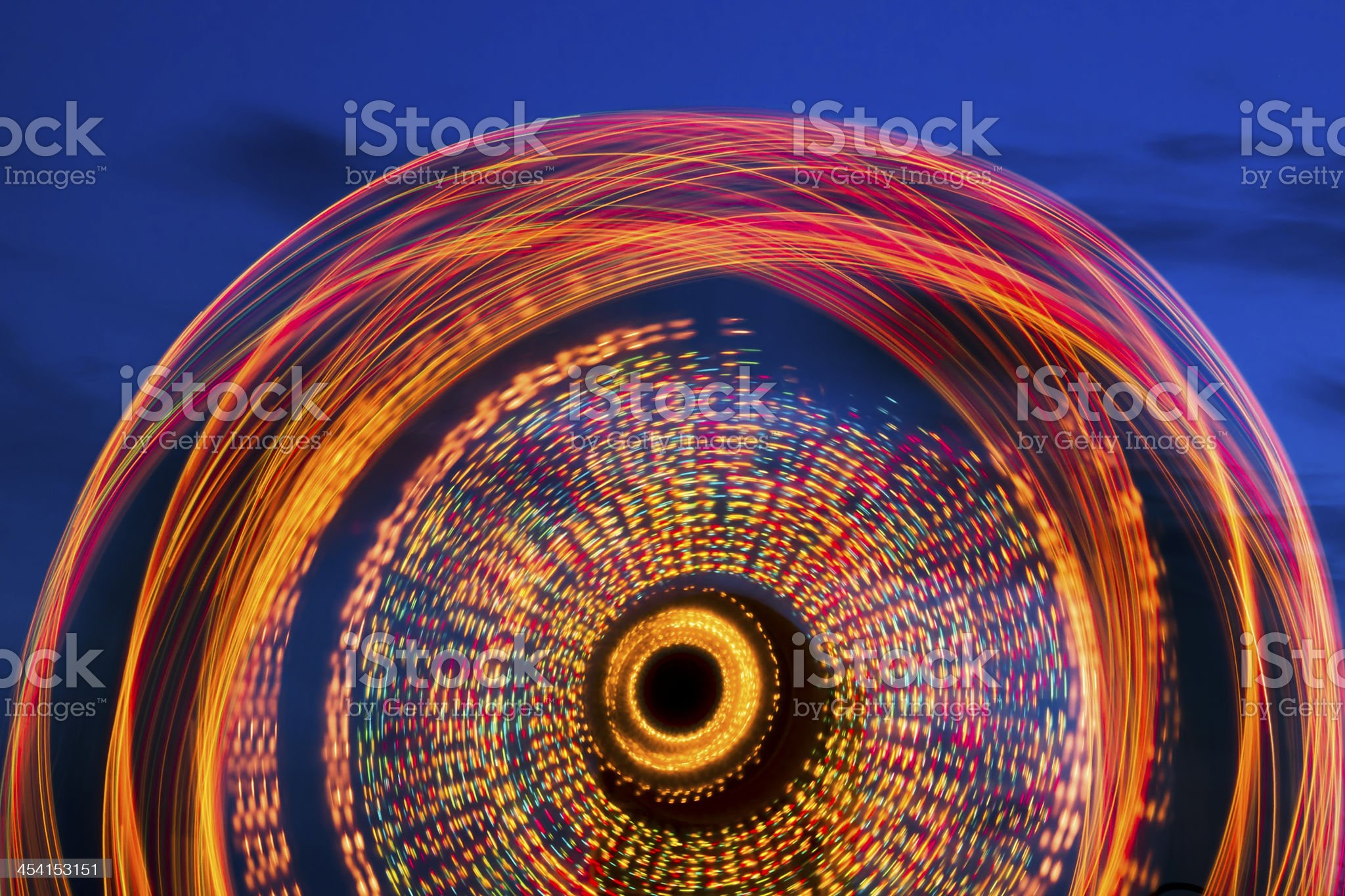 Ferris Wheel at Twilight royalty-free stock photo