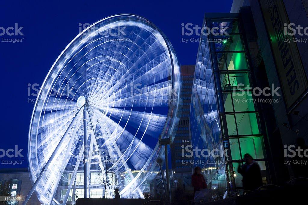 Ferris Wheel Blur royalty-free stock photo