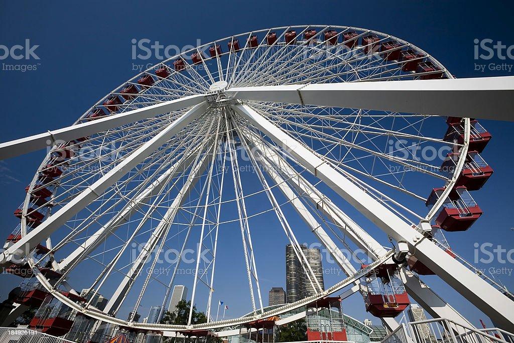 Ferris Wheel, Chicago royalty-free stock photo