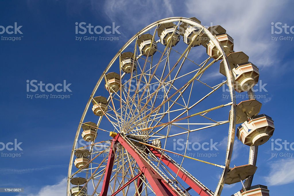 Ferris Wheel in Action royalty-free stock photo