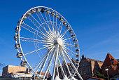 Ferris wheel in Gdansk