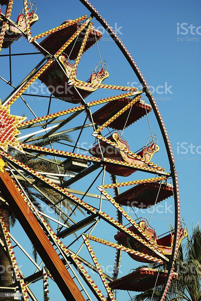 Ferris Wheel in Luna Park royalty-free stock photo