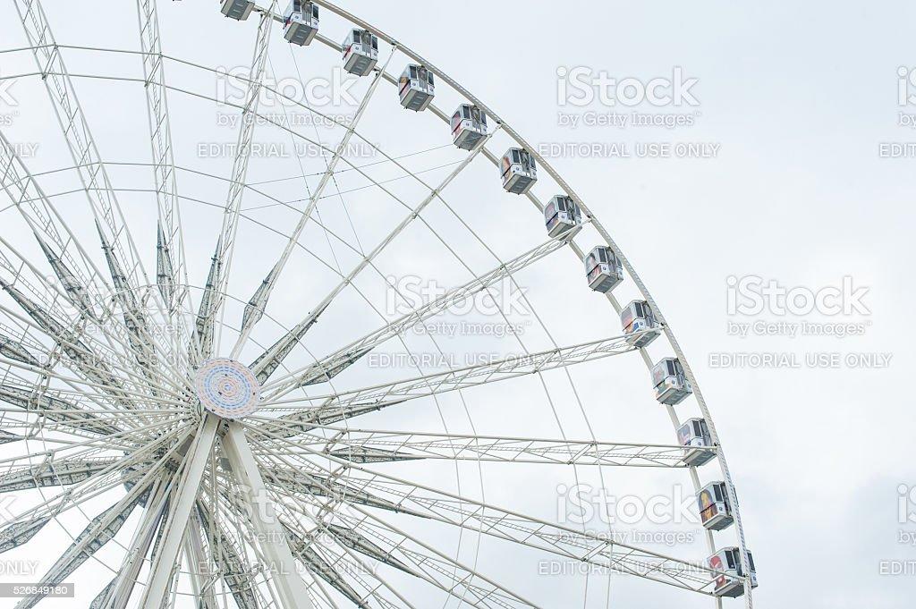 Ferris Wheel in Paris stock photo
