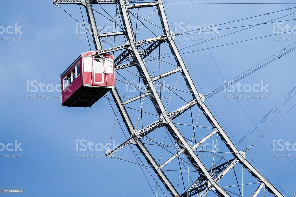 Ferris wheel in Prater park, Vienna, Austria royalty-free stock photo