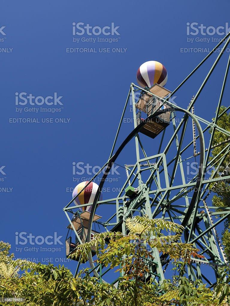 Ferris wheel in Tivoli Gardens, Copenhagen royalty-free stock photo