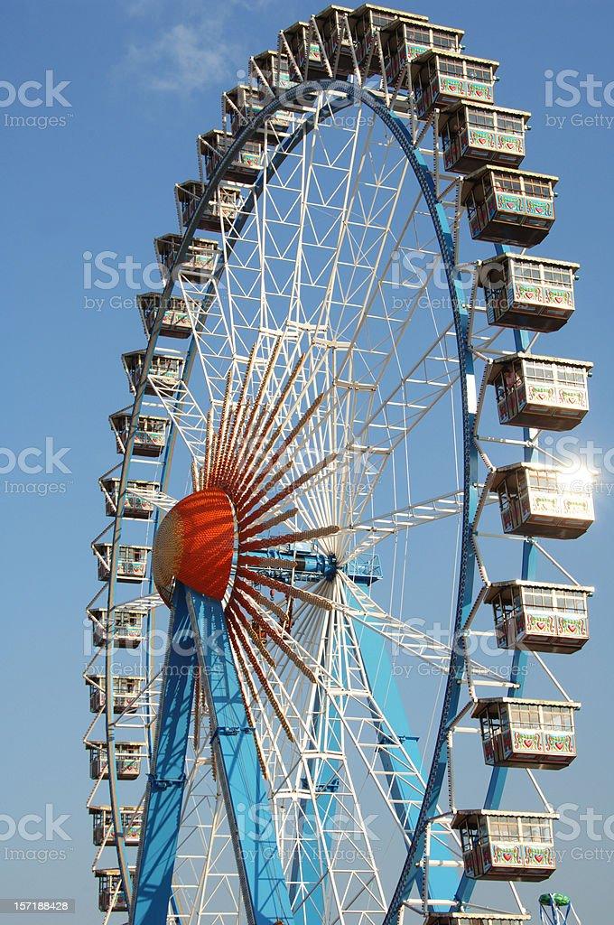 ferris wheel - Octoberfest royalty-free stock photo