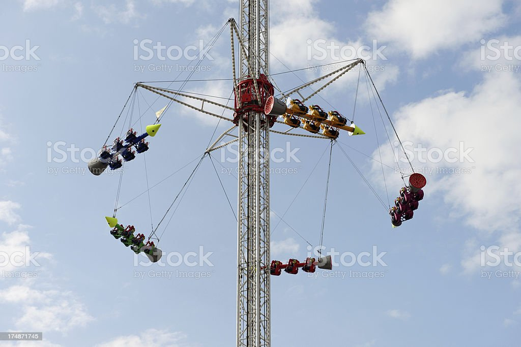 ferris wheel - Octoberfest stock photo