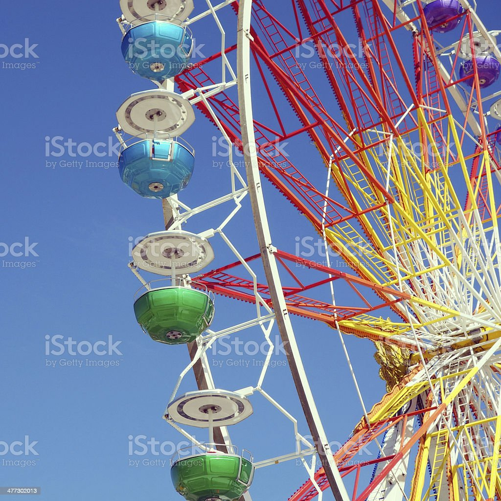 Ferris Wheel on Munich's Theresienwiese royalty-free stock photo
