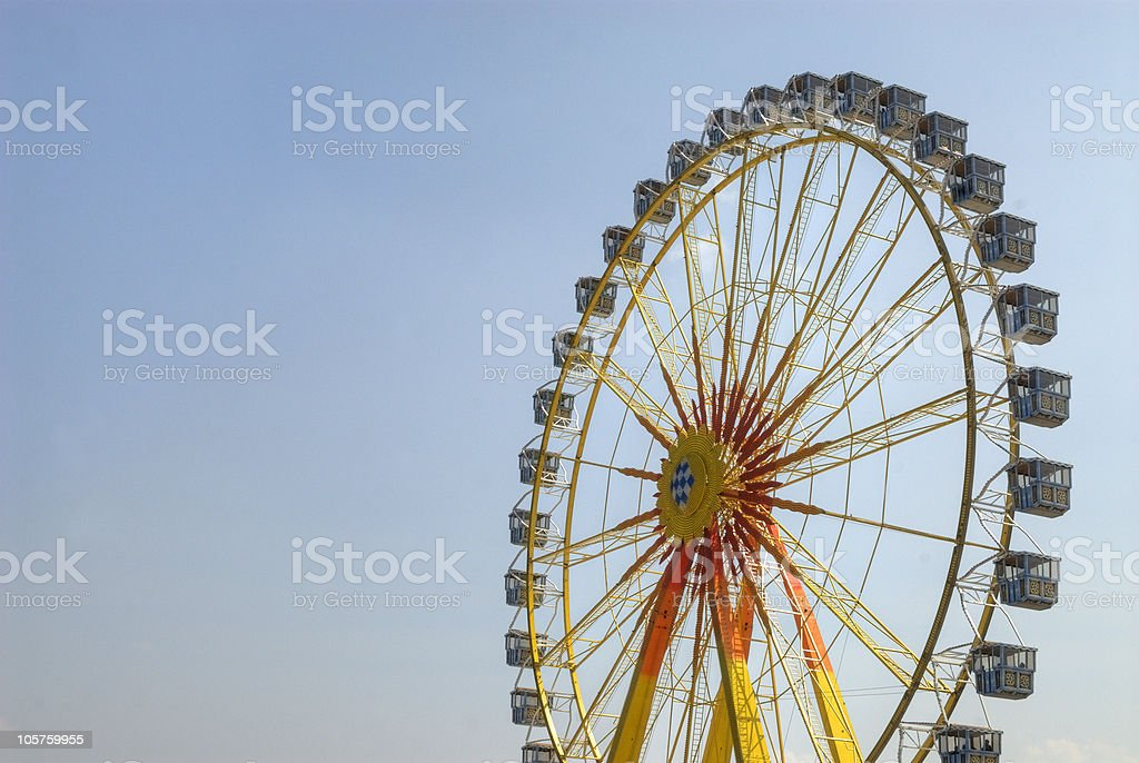 Ferris wheel - Riesenrad royalty-free stock photo