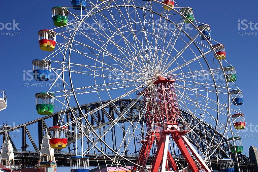 Ferris Wheel, Sydney royalty-free stock photo