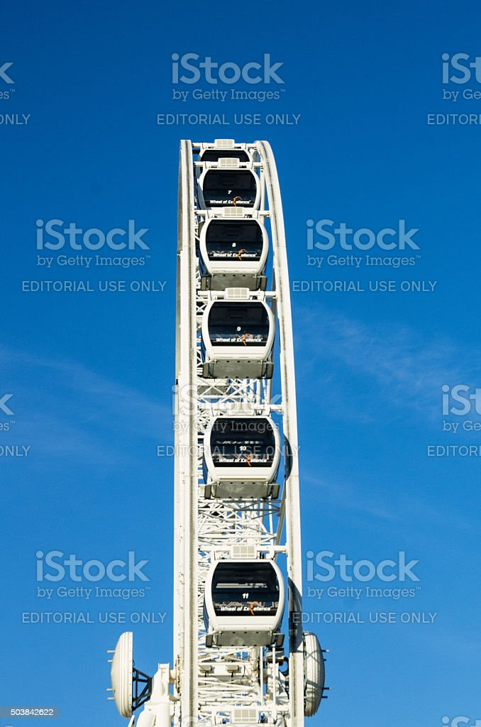 Ferris Wheel, V&A Waterfront, Cape Town, South Africa stock photo