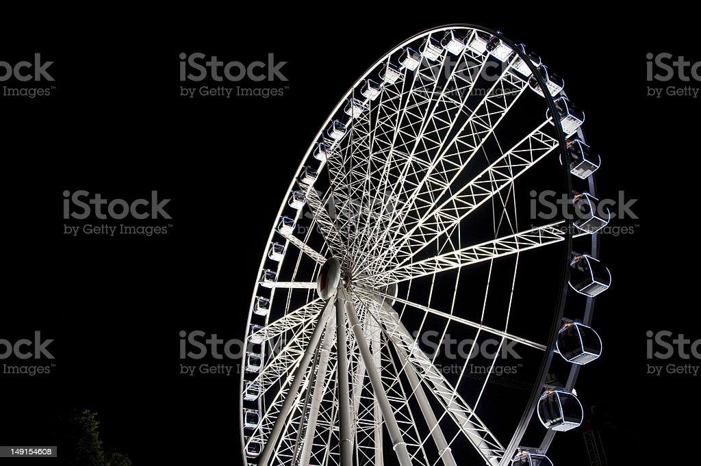 Ferris Wheel,Ninght royalty-free stock photo