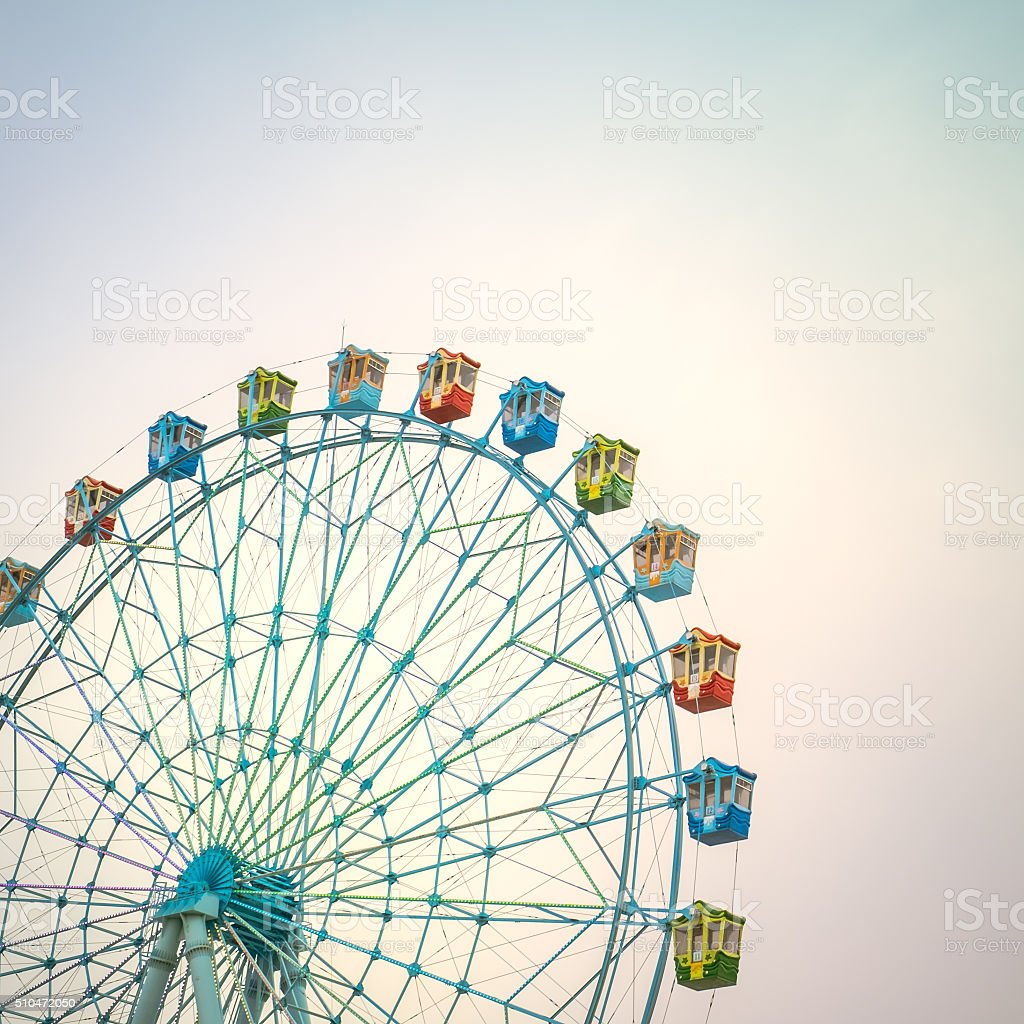 Ferriswheel stock photo