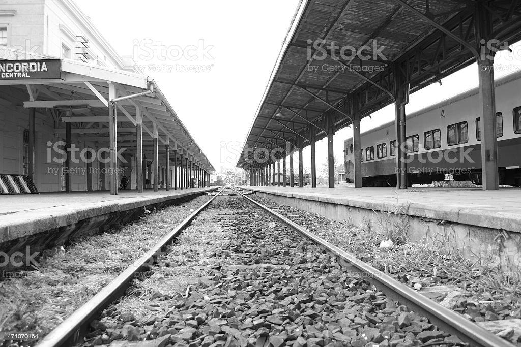 ferrocarril stock photo
