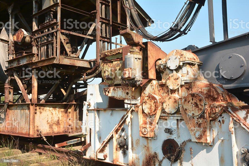 Ferropolis stock photo