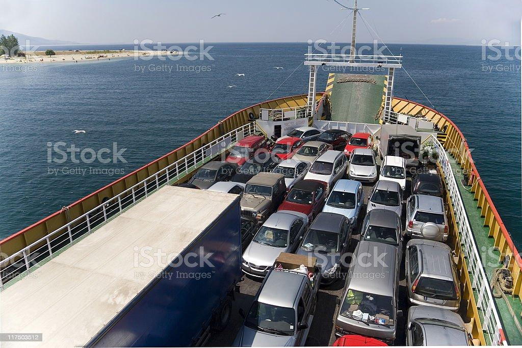 Ferry Boat royalty-free stock photo