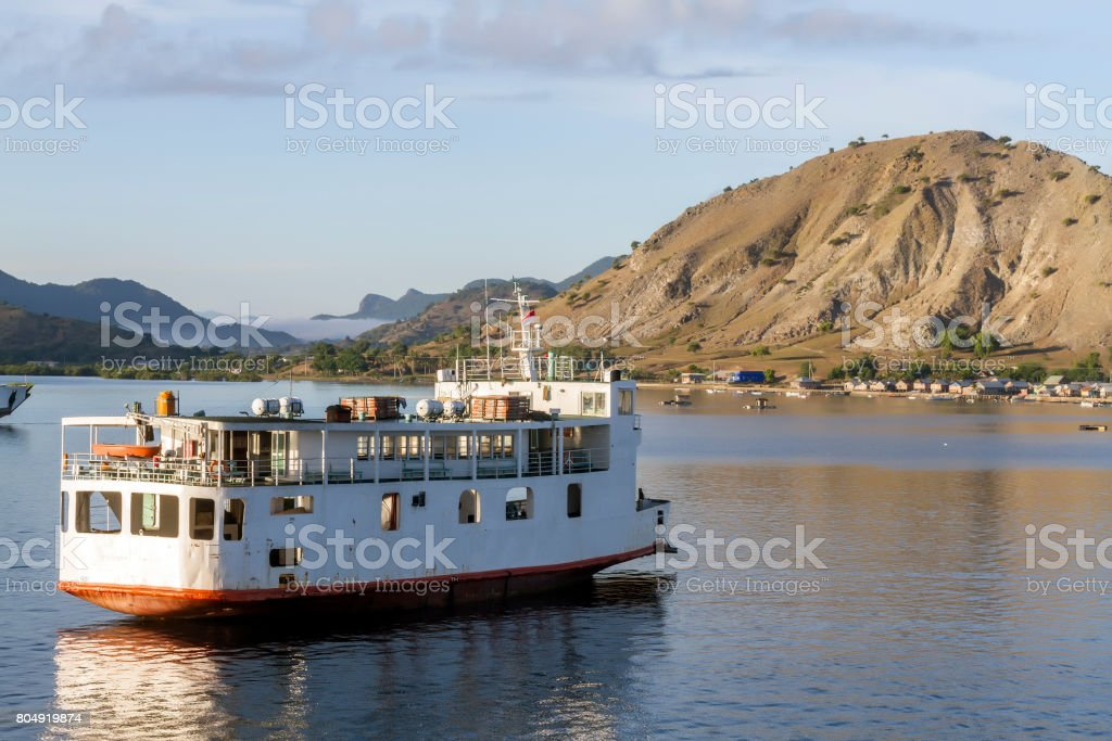 Ferry boat stock photo