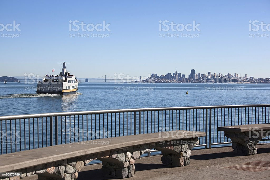 Ferry Boat To San Francisco stock photo