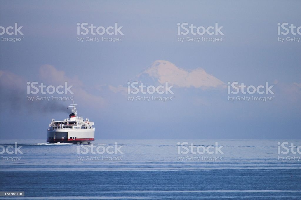 Ferry bound for Canada royalty-free stock photo