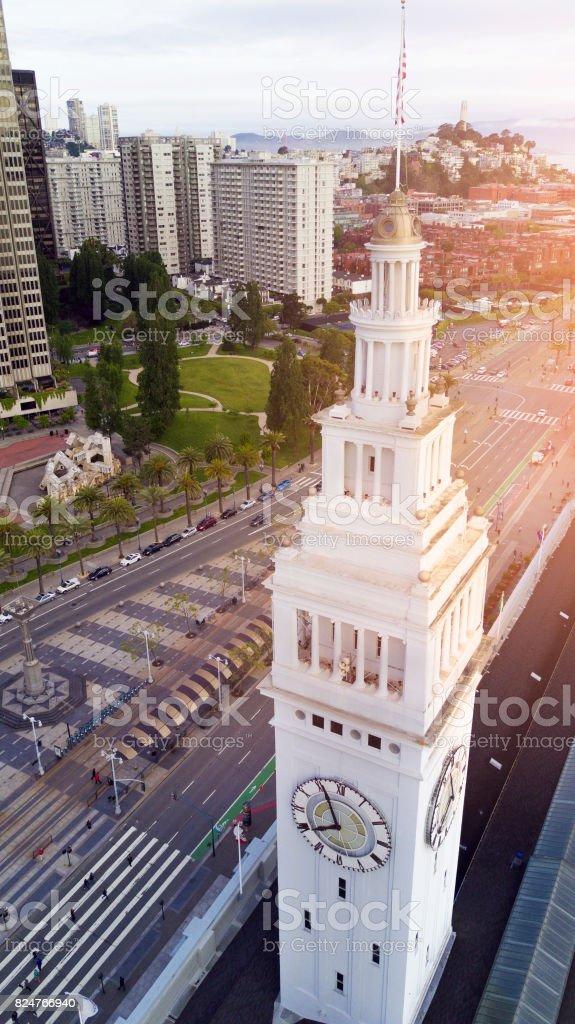 Ferry Building stock photo