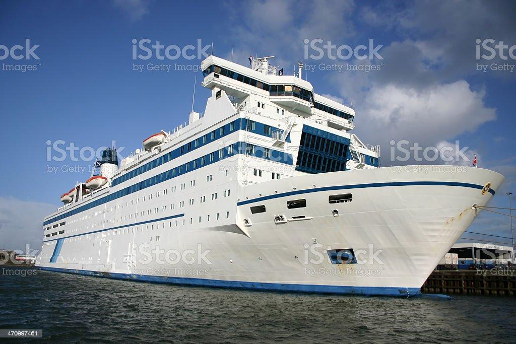 Ferry IJmuiden - Newcastle stock photo
