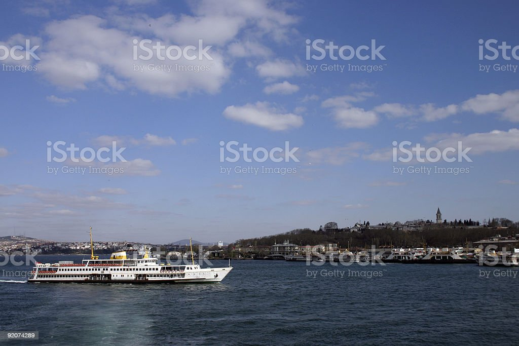 Ferry Istanbul stock photo