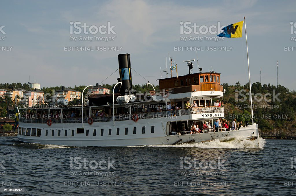 Ferry 'Norrskar' stock photo