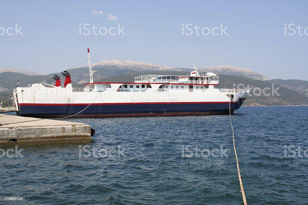 Ferry. royalty-free stock photo