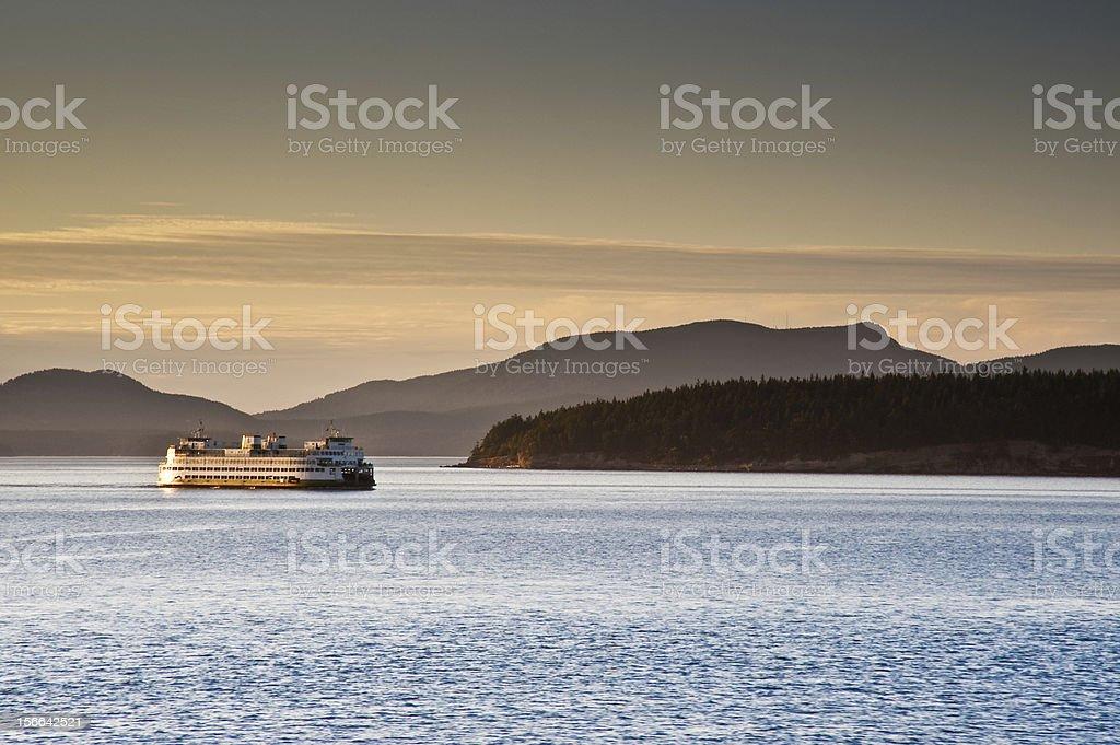 Ferry stock photo