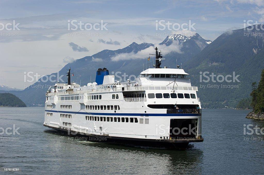 Ferry royalty-free stock photo